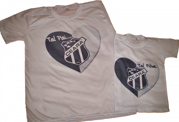 Camisetas personalizadas do Ceará Pai e Filho - Loja de ...